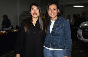 13012020 RECIENTE EVENTO.  Elisa Guajardo y Abi Acosta.