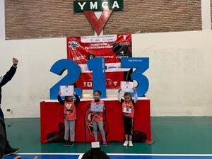 13012020 DESTACADA PARTICIPACIóN.  Eva Nieto Rangel, primer lugar en la categoría de 4 a 6 años, 100 metros infantil en la YMCArrera 5K del Pavo.