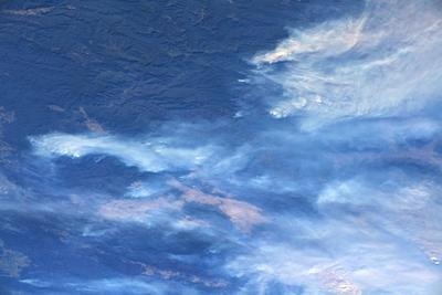 El astronauta italiano Luca Parmitano compartió las imágenes.