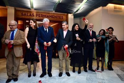Cortan listón inaugural del renovado Museo Regional de La Laguna
