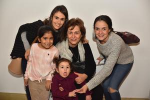 17012020 Paz, Ade, Sofía, Valentina y Eva.
