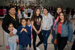 15012020 Carmen, Ismayli, Debany, Dulce, Génesis, Alejandra, Janeth y Yolanda.