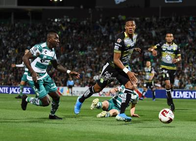 SANTOS-LEÓN APERTURA 2020    Santos Laguna vs León Torneo de clausura 2020 jornada 2 Liga MX Santos 2 León 1 Segundo Tiempo