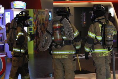 La brigada interna del establecimiento asumió la manera de responder ante la emergencia.