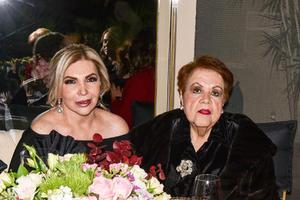 20012020 RECIENTE EVENTO SOCIAL.  Ilena Portilla y María Esther Jaime de Cocho.