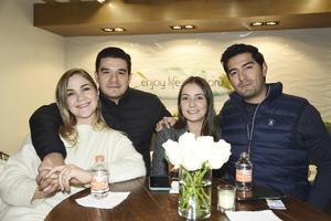 Ana Cris, Armando, Bruno, Bárbara