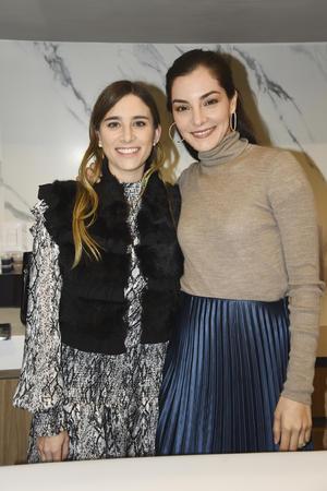 Andrea Martínez y Ana Gaby Tueme