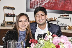 Wendy Madrid y Gerardo Enriquez.