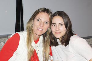 Andrea y Luisa.