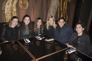 Beatriz, Denisse, Leida, Mara, Diego y Lily