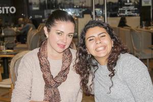 Dayra y Daniela.
