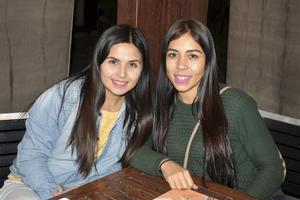 Gaby y Gisella.