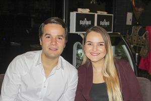 Gustavo Herrera y Karime Silveyra.