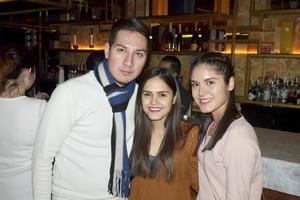 Pablo, Nancy y Cindy
