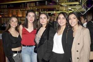 Sofia, Mary Fer, Jimena, Natalia y Victoria