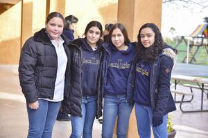Fanny, Sofía, Barbie y Fernanda