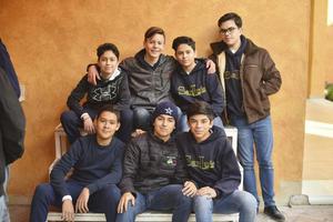 Iñaki, Renato, Gael, Javier, Santiago, Ricky y Andres