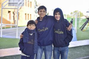José Luis, Sebastian y Mauricio