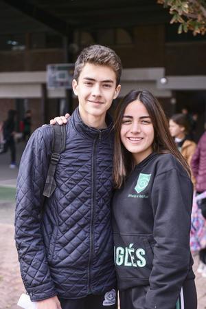 Diego y Marijose.