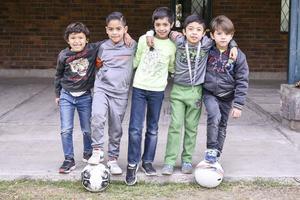 Tiago,Manuel,Emiliano,Paolo, y Gibert.
