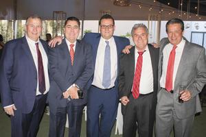 Jorge Murra,Marcelo Bremer,Luis Reed,Jesus Berlanga y Jaime Allegre.