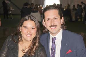 Luisa Diez y Marcelo Delgado.