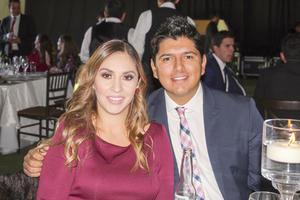 Mariana Alvarez y Diego Gonzalez.