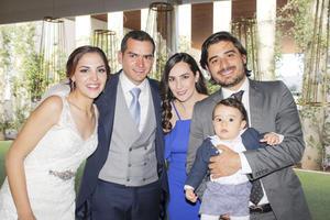 Perla,Eugenio,Marlene,Arturo y Arturo Jr.