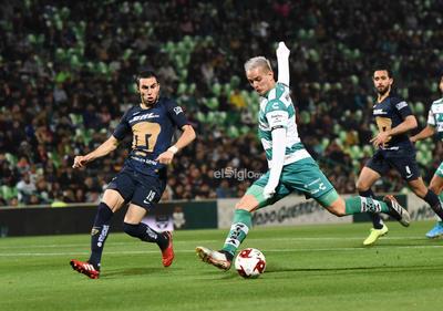 SANTOS VS PUMAS COPA MX    Santos Laguna vs Pumas UNAM octavos de final de Copa MX gol Octavio Rivero