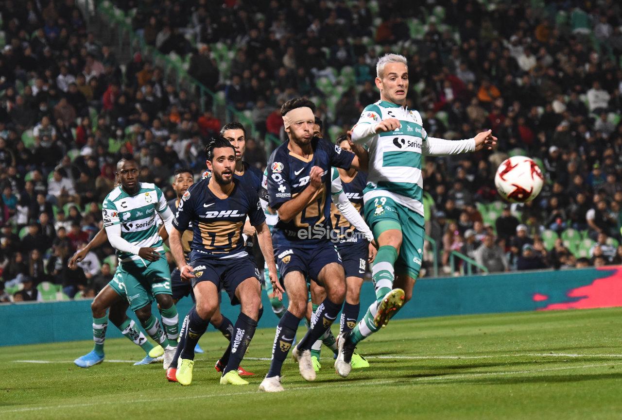 Santos Laguna vence a Pumas en los 'Octavos' de la Copa MX