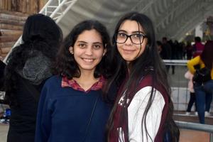 23012020 AMIGAS.  Leonor y Elisa.