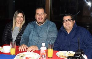 23012020 Artemisa Rodríguez, Issac Hernández y Noel Díaz.