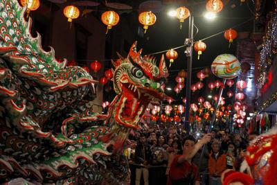 Ciudad de México da bienvenida al Año Nuevo Chino