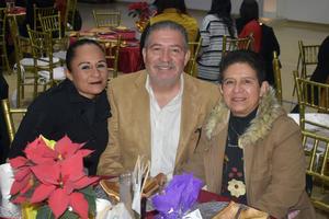26012020 BUENOS MOMENTOS.  Griselda, Jorge y Dora.