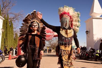 Con emotivas ceremonias espirituales por parte de las diversas etnias del estado se conjugó la protección para los diversos clubes de motociclistas.