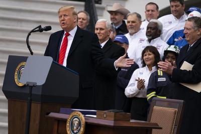 El acto se realizó en la Casa Blanca.