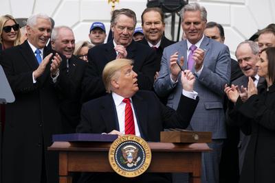 Destacó que ahora se convierte en ley el nuevo acuerdo comercial.