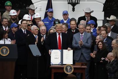 El T-MEC avanza en Estados Unidos.