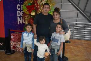 28012020 Dylan, Antonio, Daniela, Andrea e Iker.