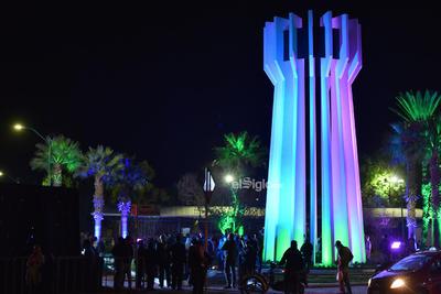 Inauguración    Inauguración del Monumento al Torreón