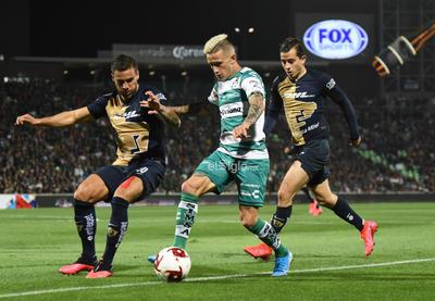 SANTOS VS PUMAS CLAUSURA 2020    Santos Laguna vs Pumas UNAM jornada 4 torneo de clausura 2020