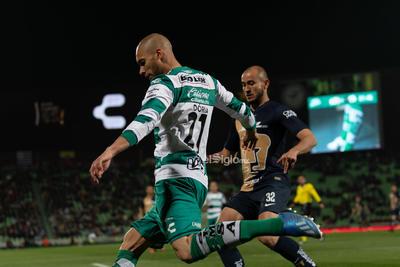 Santos vs Pumas    Santos vs Pumas de la UNAM J4C2020