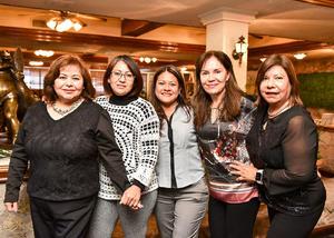 03022020 Doris Ortiz, Rosy Castillo, Alicia Navarro, Betty Sánchez y Diana Flores.