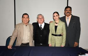 02022020 Dr. David Cortés, Dr. Armando De Pablos Gómez, Dra. Lupita Martínez Mora y Dr. Armando Palafox.