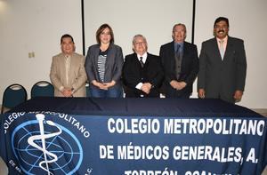 02022020 Dr. David Cortés, Lic. Martha Silvia Argüelles, Dr. Armando de Pablos, Dr. Sergio Mercado y Dr. Armando Palafox.