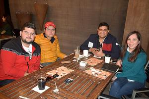 03022020 Mario, Fernando, Armando y Karen.