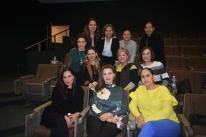 03022020 REUNIóN MENSUAL.  Damas integrantes del Club de Jardinería Orquídeas.