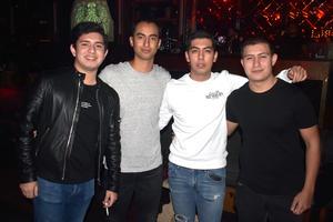04022020 LA PASAN GENIAL.  Ricardo, Sebastián, Jorge y Carlos.