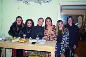 02022020 BRINDIS POR ANIVERSARIO.  Susana, Gretel, Rosario, Azucena, Lluvia y Emilia.