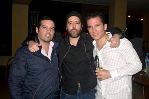 Alejandro, Roy y Rodolfo
